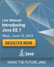 Java EE 7 Webcast