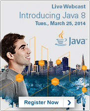 Java 8 Launch Webcast